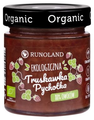 Pychotka Truskawka Bio 200 g - Runoland