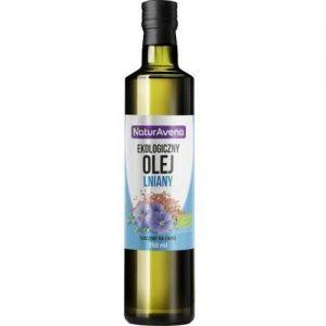 Olej Lniany Bio 250 Ml - Naturavena