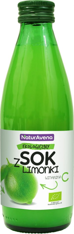 Sok z Limonki Bio 250 Ml - Naturavena