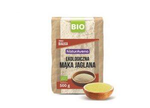 Mąka Jaglana Bio 500 g - Naturavena