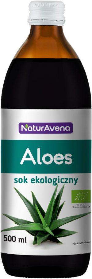 Sok z Aloesu 500 Ml Bio - Naturavena