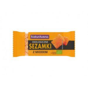 Sezamki z Miodem Bio 27 g - Naturavena