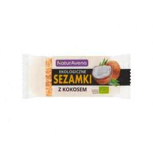 Sezamki z Kokosem Bio 27 g - Naturavena