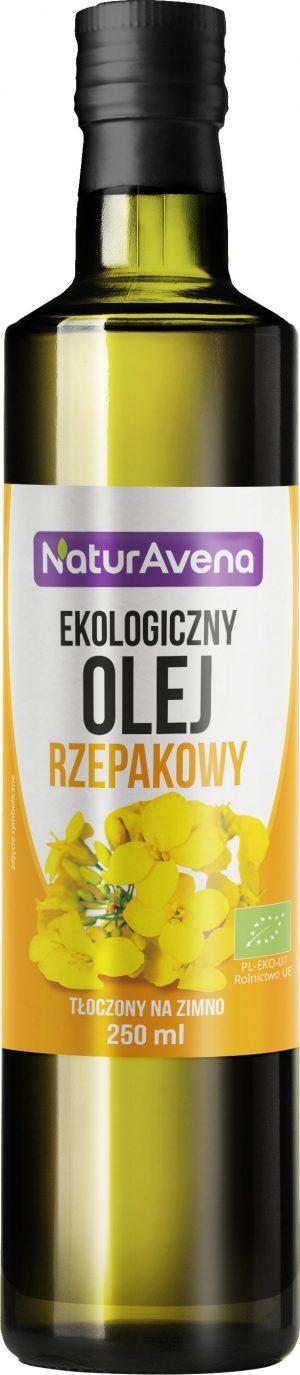 Olej Rzepakowy Bio 250 Ml - Naturavena