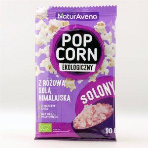 Popcorn z Solą Himalajską 90g Bio