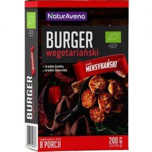 Burger Wegetariański Meksykański Bio 200 g - Naturavena