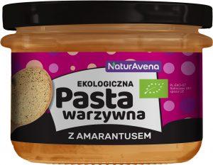 Pasta Warzywna z Amarantusem 185g Bio