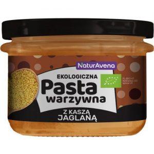 Pasta Warzywna z Kaszą Jaglaną 185g Bio