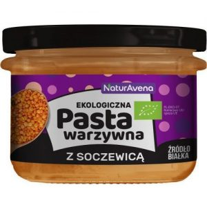 Pasta Warzywna z Soczewicą 185g Bio