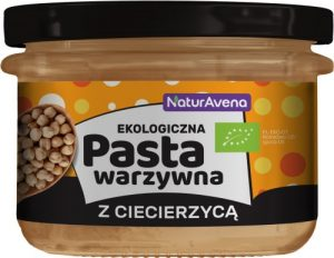 Pasta Warzywna z Ciecierzycy 185g Bio