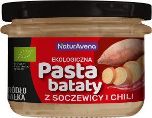 Pasta Bataty z Soczewicą i Chili 185g Bio