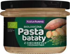 Pasta Bataty Ciecier. i Rozmaryn 185g Bio
