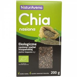 Nasiona Chia 200 g Bio Kartonik