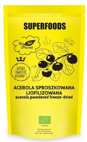 Acerolla Sproszkowana Liofilizowana Bio 100 g -  Bio Planet