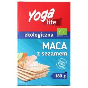 N- Pieczywo Maca z Sezamem 180g Bio Yoga Life(Nva)