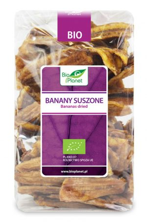 Banany Suszone Bio 400 g - Bio Planet