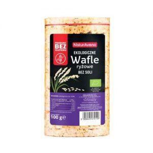 Wafle Ryżowe Bez Soli B/g 100 g Bio