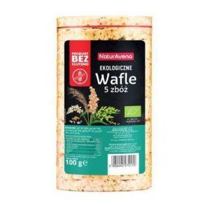 Wafle 5 Zbóż B/g 100 g Bio