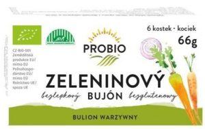 Bulion Jarzynowy - Kostki 6 x 0,55 l Probio