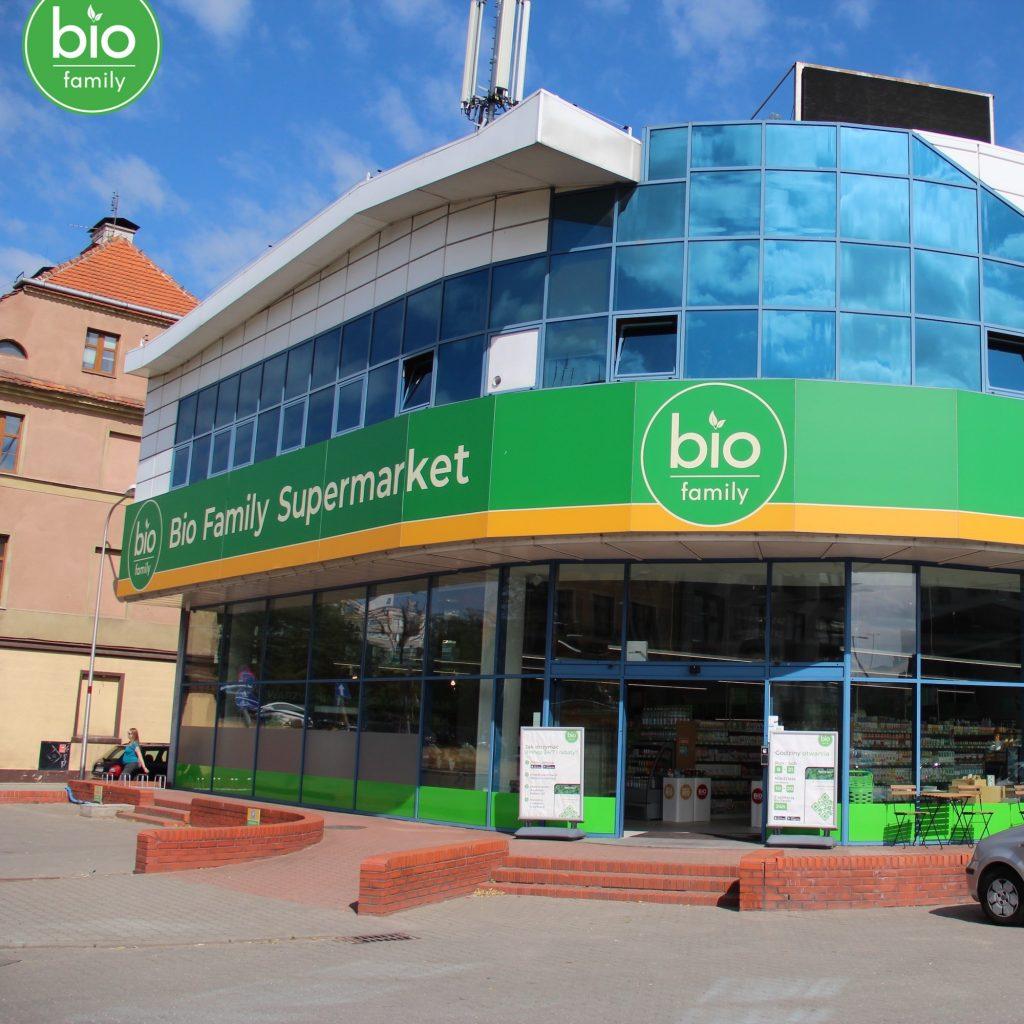 Bio Family Supermarket ul. Dmowskiego 7, Wrocław (Kępa Mieszczańska)