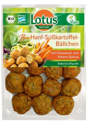 Kulki Warzywne z Batatami Bio 180 g - Lotus