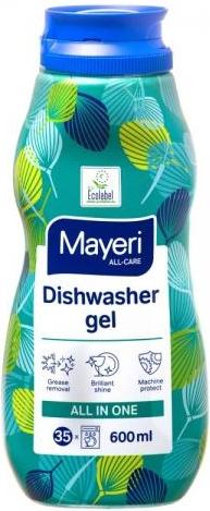 Mayeri Żel Do Zmywarek All-In-One 600 Ml. (35 Myć)