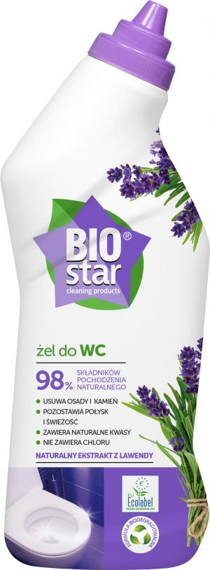 Biostar Cleaning Products Ekologiczny Żel Do Wc i Innych Powierzchni Sanitarnych 750 Ml