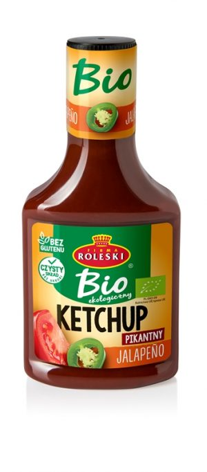 Ketchup Jalapeno Bio 340 g - Roleski