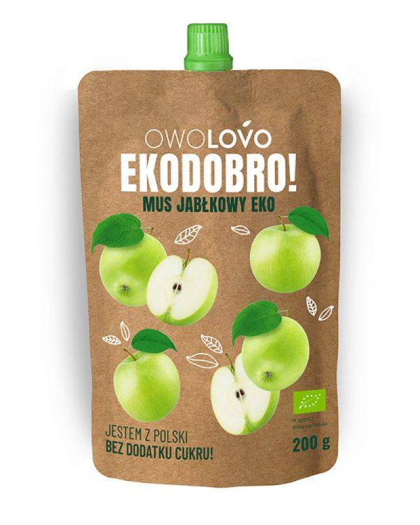 Mus Jabłkowy 200 g Bio - Owolovo