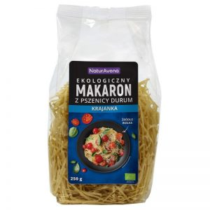 Makaron z Pszenicy Durum Krajanka Bio 250 g - Naturavena