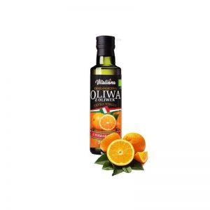 Oliwa z Oliwek Pomarańczowa Bio 100 Ml - Vitaliana