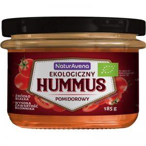 Hummus Pomidorowy Bio 185 g - Naturavena