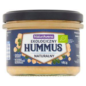 Hummus Naturalny Bio 185 g - Naturavena