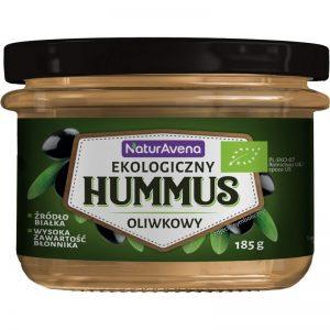 Hummus Oliwkowy Bio 185 g - Naturavena