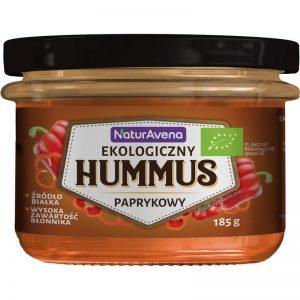 Hummus Paprykowy Bio 185 g - Naturavena