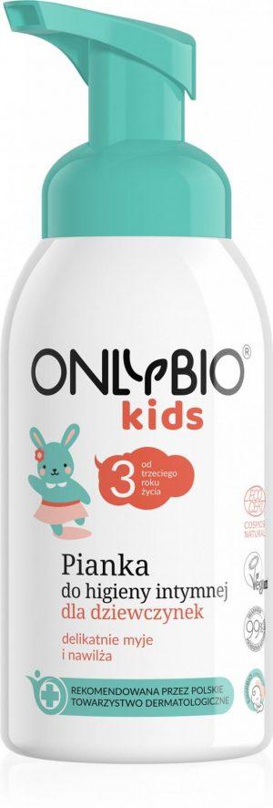 Pianka Do Higieny Intymnej Dla Dziewczynek - Only Bio