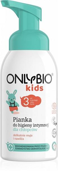 Pianka Do Higieny Intymnej Dla Chłopców - Only Bio