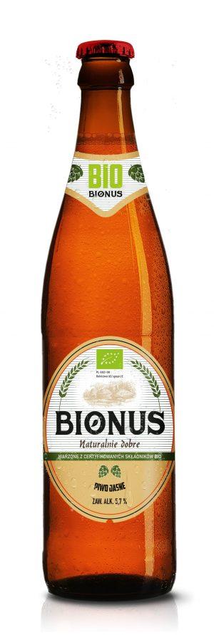 Piwo Bionus Jasne 0,5L - Kultowy Browar Staropolski