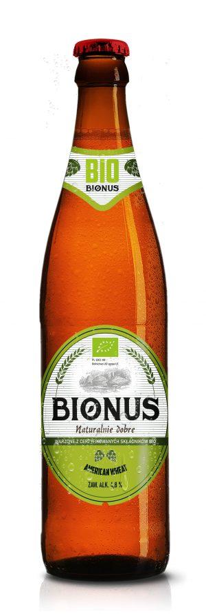Piwo Bionus American Wheat 0,5L - Kultowy Browar Staropolski