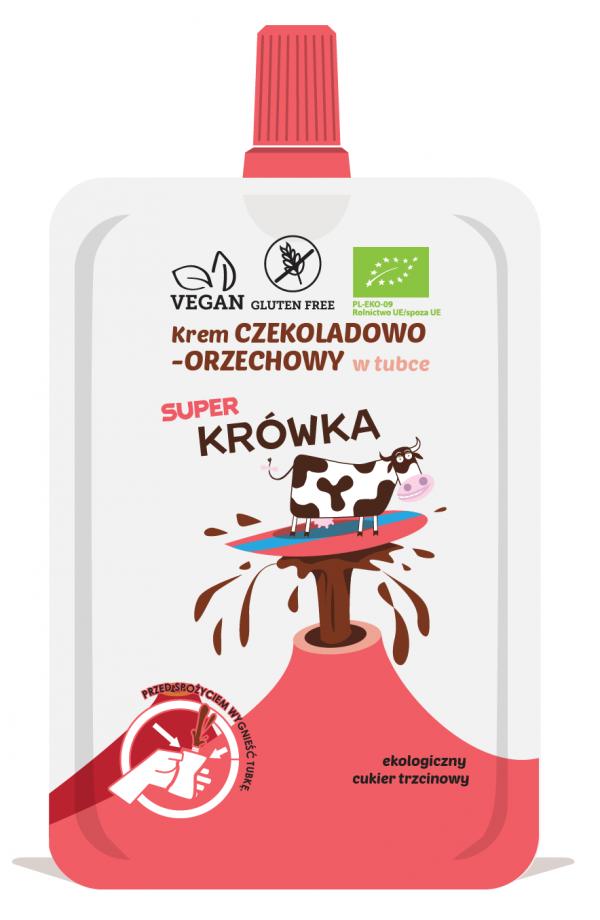 Krem Czekoladowo- Orzechowy w Tubce Bio 50 g - Me Gusto