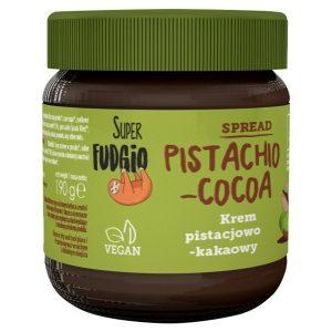 Krem Pistacjowo-Kakaowy Bio 190 g - Super Fudgio