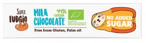 Baton Bez Cukru Milk Chocolate Bio 40 g - Me Gusto