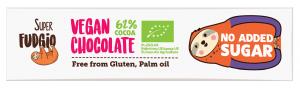 Baton Bez Cukru Vegan Chocolate Bio 40 g - Me Gusto
