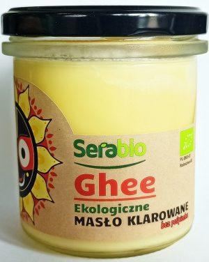 Masło Klarowane Ghee Bio 250 g - Serabio