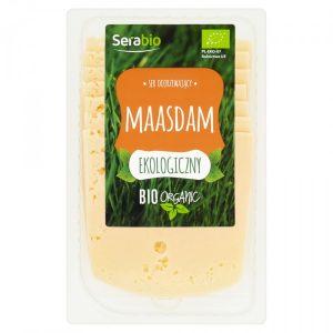 Ser Maasdam Plastry Bio 125 g - Serabio