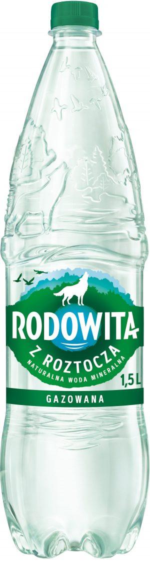 Woda Rodowita Gazowana 1,5 l