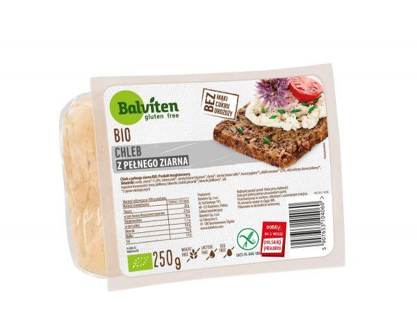 Chleb Pełne Ziarno Bio 250g