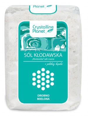 Sól Kłodawska Drobno Mielona 600 g - Crystalline Planet