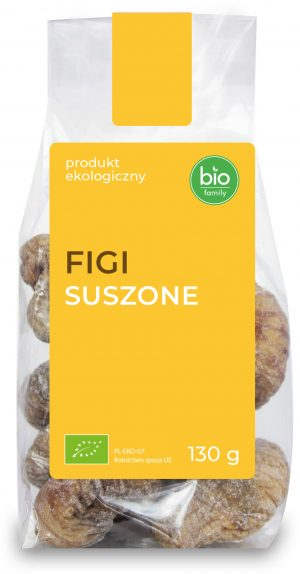 Figi Suszone Bio 130 g - Bio Family