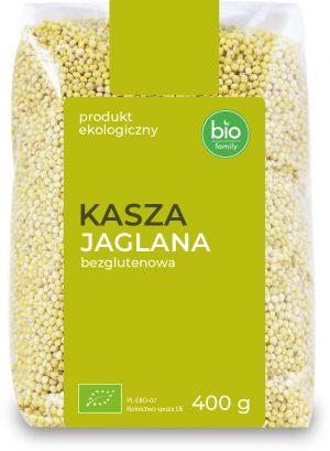 Kasza Jaglana Bezglutenowa Bio 400 g - Bio Family